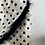 Thumbnail: LPA feather trim polka dot dress
