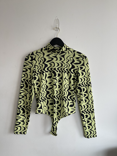 NA-KD neon abstract bodysuit