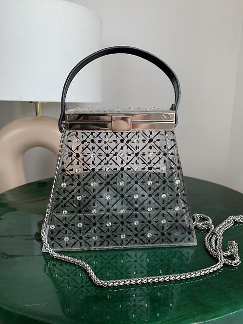 Zara embellished clear bag