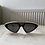 Thumbnail: Black beige half sunglasses