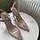 Thumbnail: Blush transparent pointed heels
