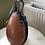 Thumbnail: Faux leather egg shaped bag