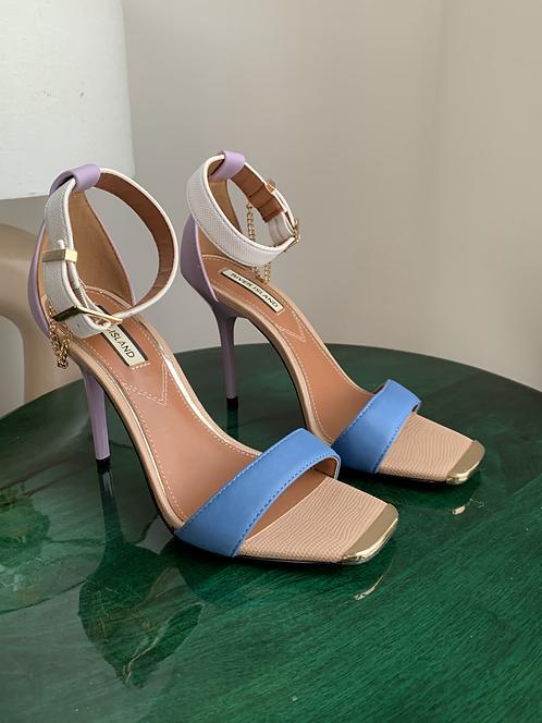 River Island multicolour heels