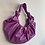 Thumbnail: Faux leather ruched bag