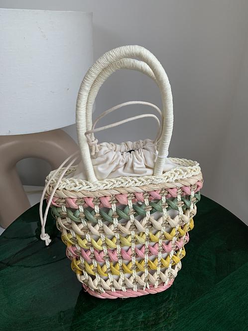 Monki straw bag