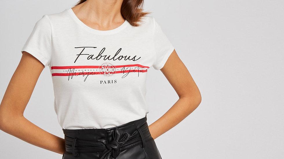 Teeshirt MORGAN Fabulous DBU