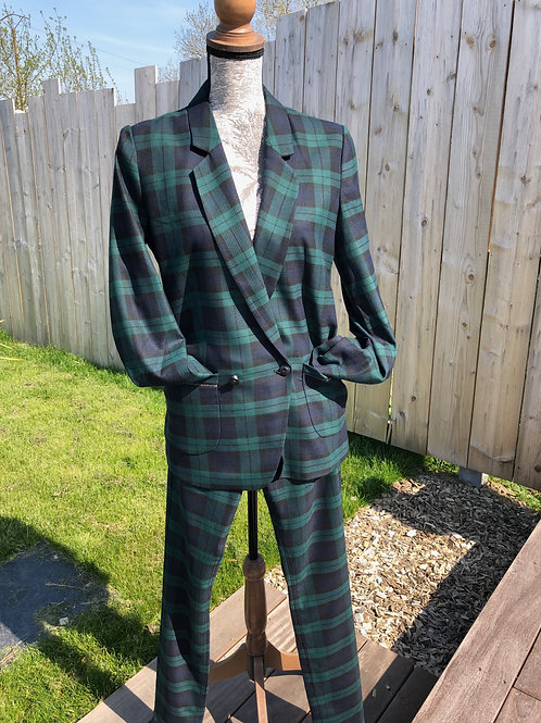 Veste écossaise Mandana