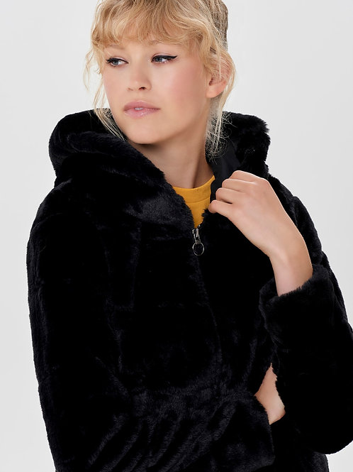 ONLY OnlChri Fur Hooded Blouson