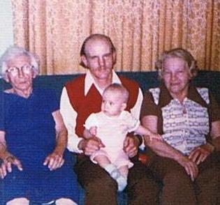 Four generations circa 1974