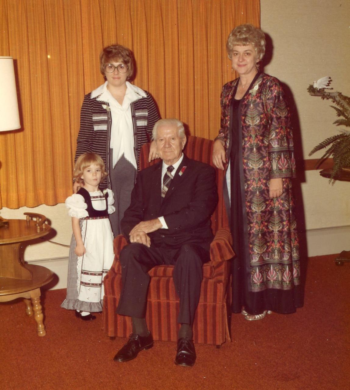 Four Generations circa 1979