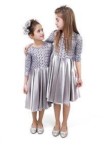 שמלה קפלים מידות 1-5
