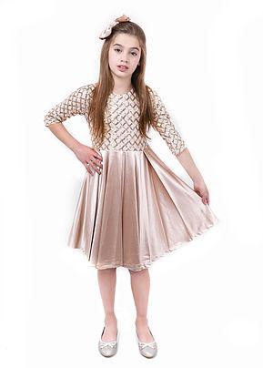שמלה קפלים מידות 6-10