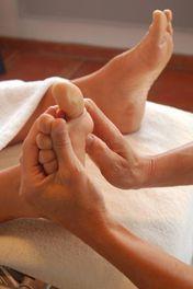 Les doigts de pieds en éventail!