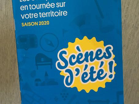 Bulle & Bling sur les scènes d'été itinérantes de Gironde en 2020 !