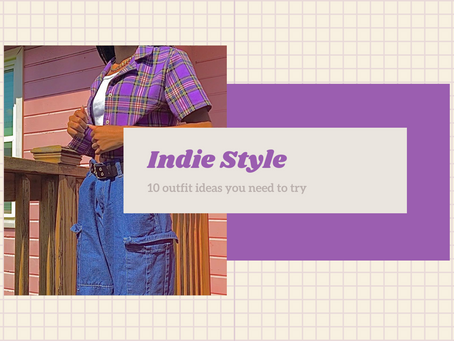 Indie Style + 10 Outfit Ideas