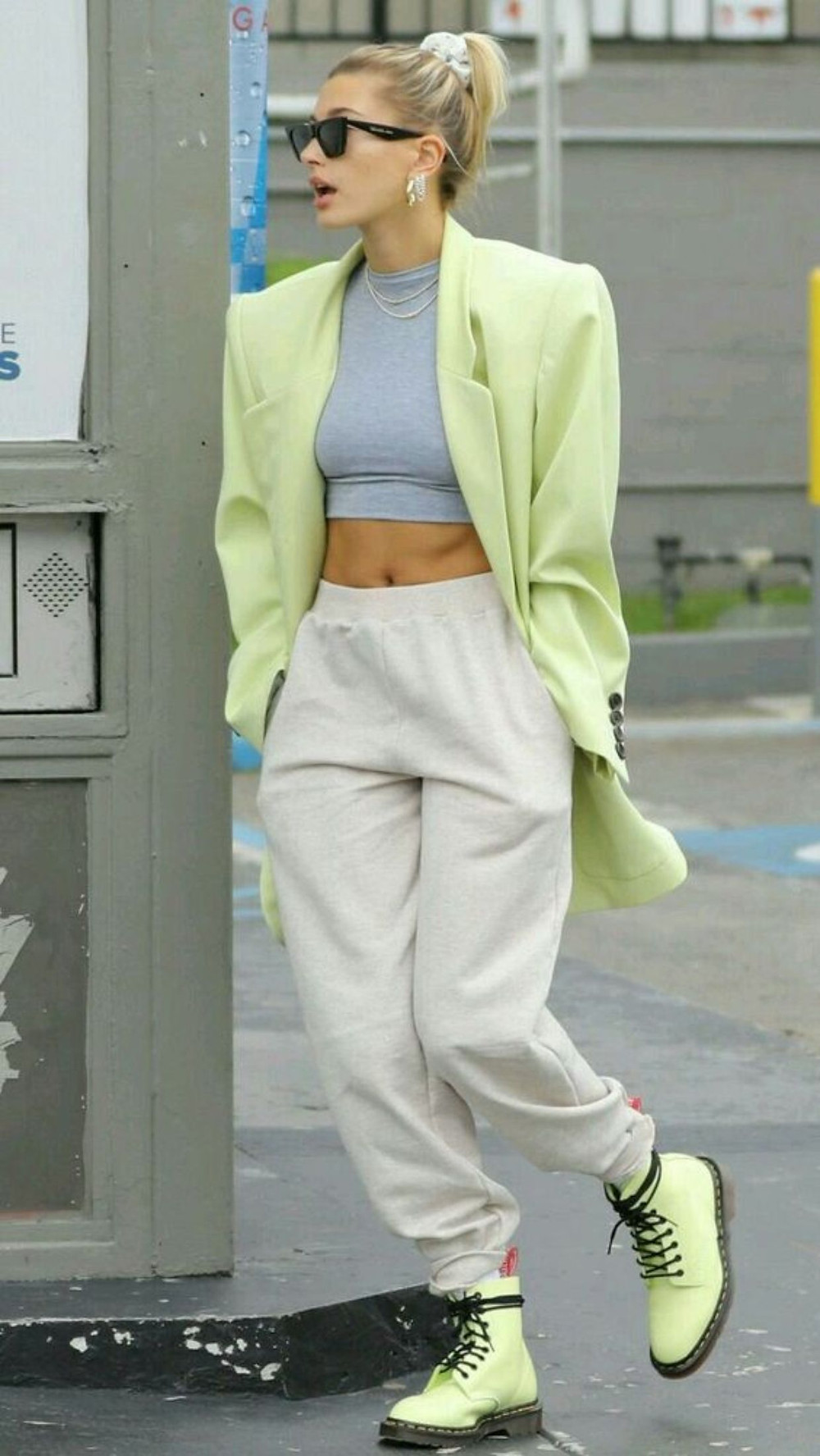 Hailey Bieber Street Style