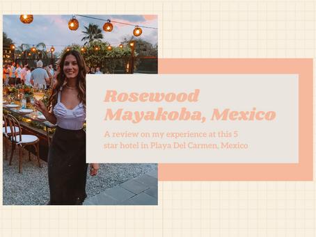 A Review of Rosewood mayakoba in Playa Del Carmen, mexico