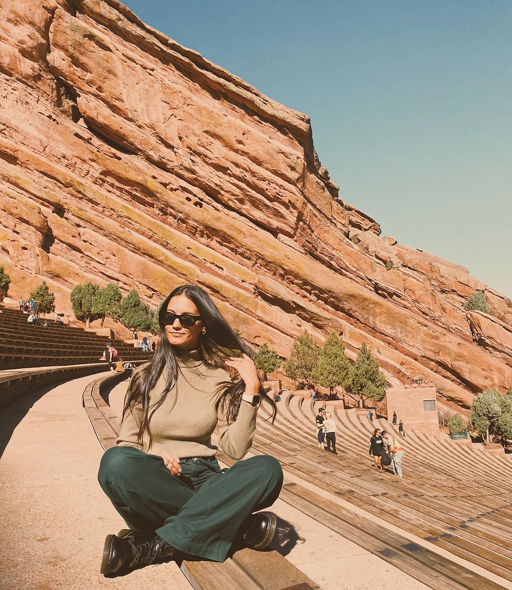 Red Rocks Amphitheater Colorado