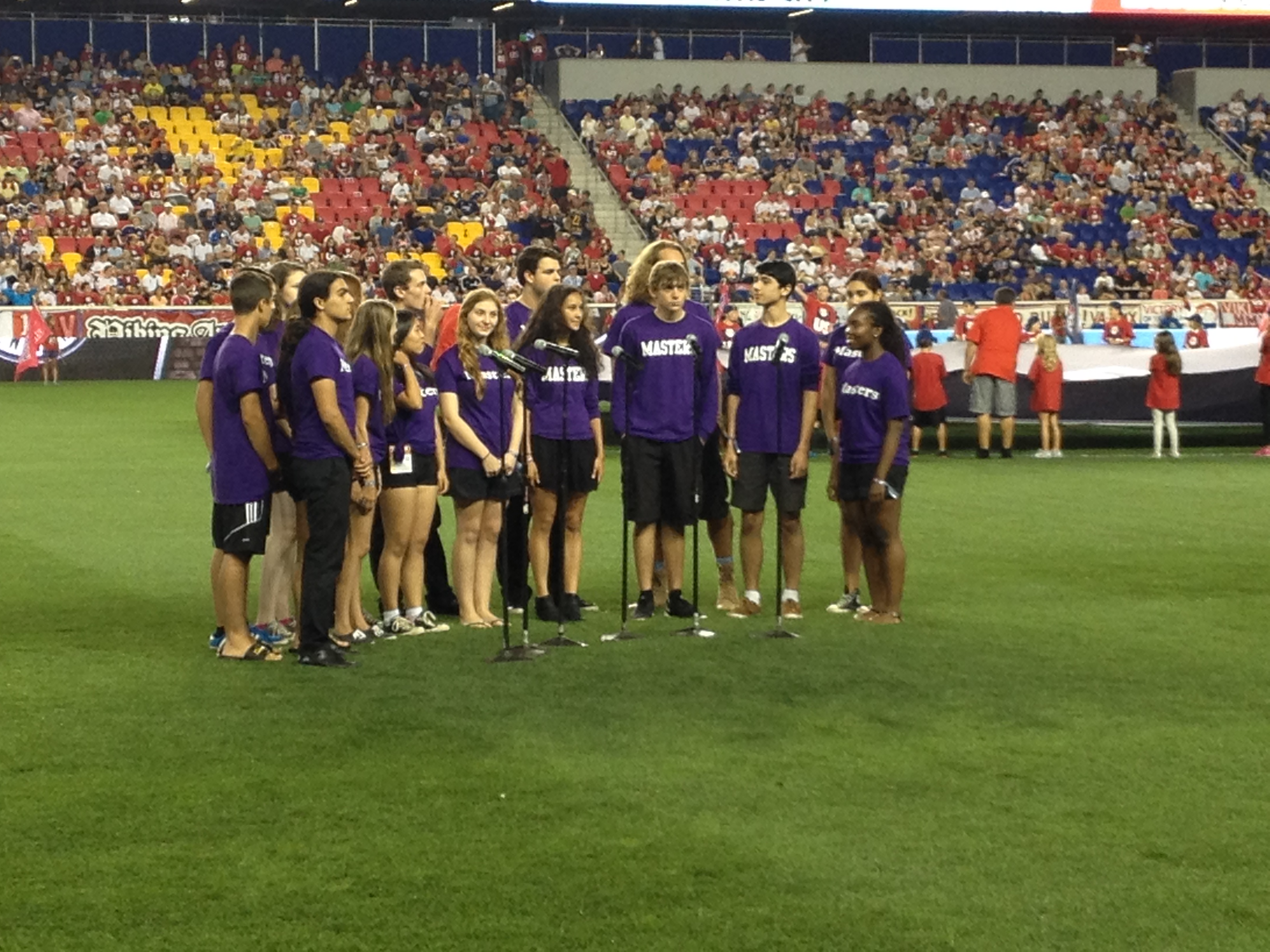 D16 at Red Bulls Stadium Sept 2014