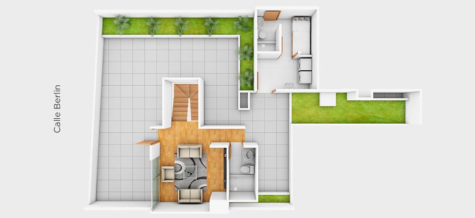 Dúplex 701 - 221.23 m2 | segundo nivel