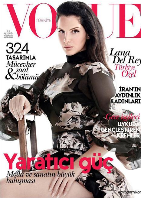 VOGUE TURKEY  Lana Del Rey // Liz Collins