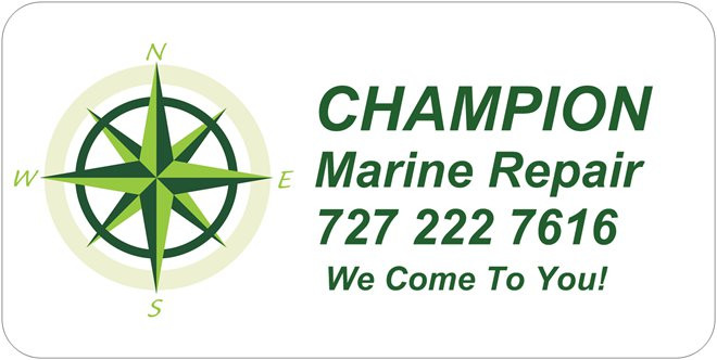 Champion Marine Repair, mobile outboard repair & service, st petersburg, Florida