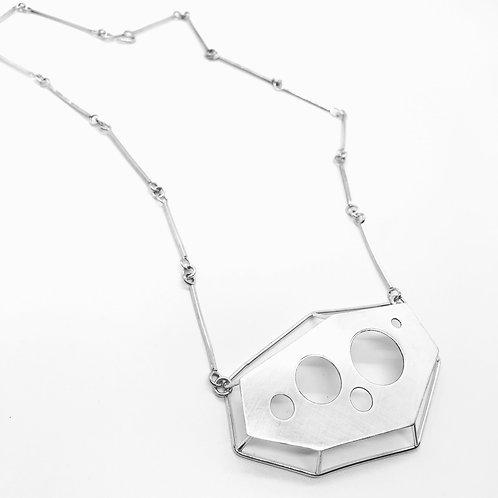 Cutout Cage Necklace