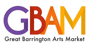 Logo for the Great Barrington Arts Market mohodesigns graphic designer