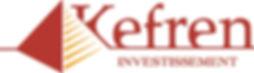 logo for Kefren investissement by mohodesigns graphic designer Great Barrington, ma