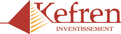 logo for Kefren investissement by mohodesigns graphic designer Great Barrington, ma