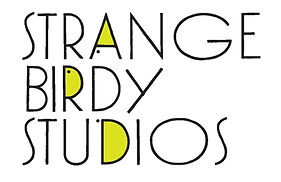Logo for Strange Birdy Studio mohodesigns graphic designer