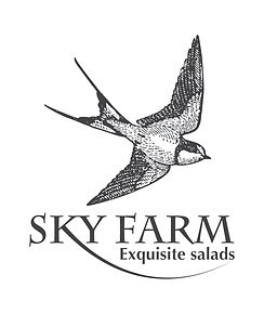 Logo fro Sky Farm mohodesigns graphic designer