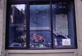 Art In General Window Installation
