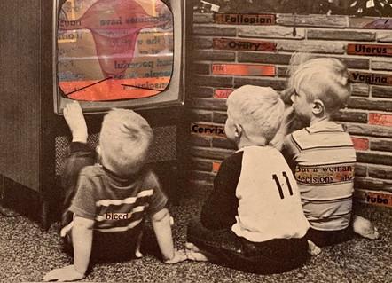 Boys Watching Uterus