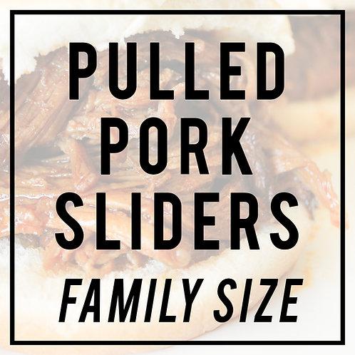 Pulled Pork Sliders-FAMILY