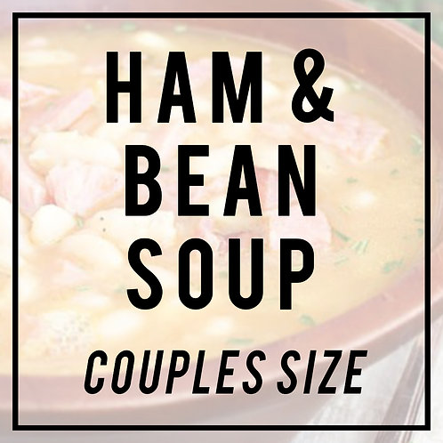Old Fashioned Ham & Bean Soup--COUPLES