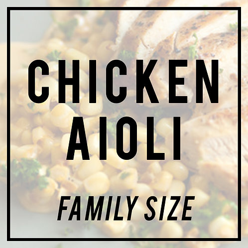Chicken Aioli-FAMILY