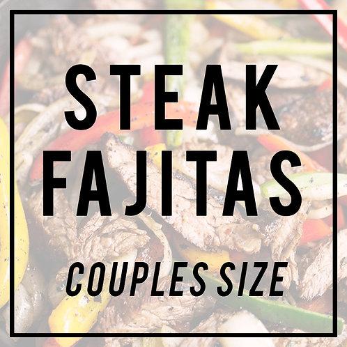 Steak Fajitas--COUPLES