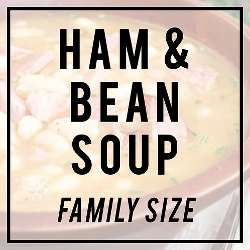Old Fashioned Ham & Bean Soup--FAMILY