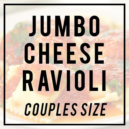 Jumbo Cheese Ravioli in Meat Sauce--COUPLES