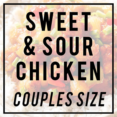 Sweet & Sour Chicken-COUPLES