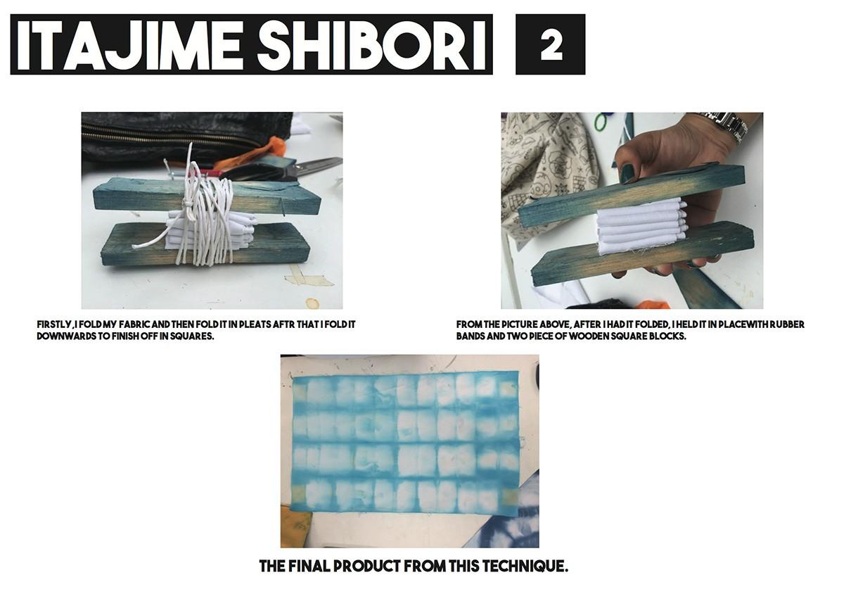 Itajime Shibori 2