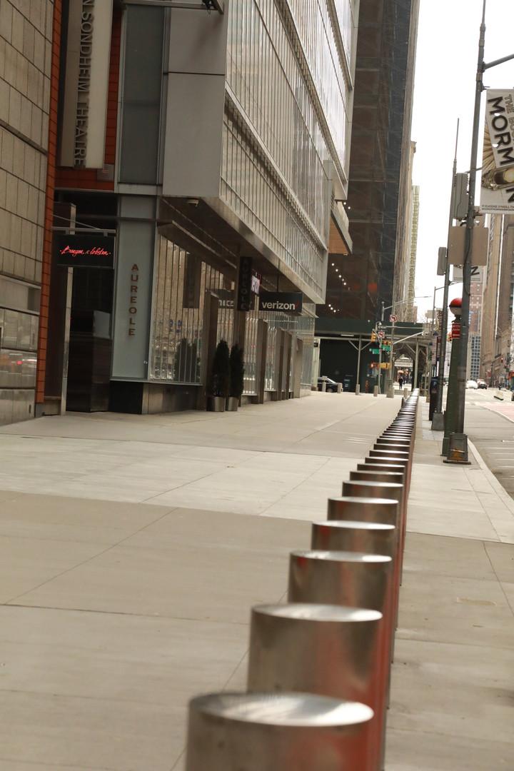 42nd St. Sidewalk