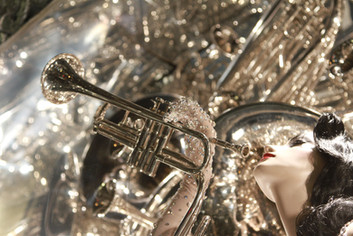 Art Deco Trumpet
