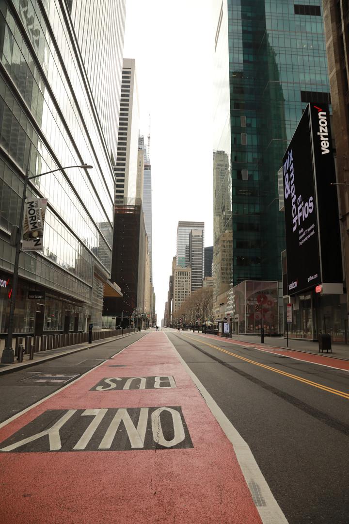 42nd Street looking East