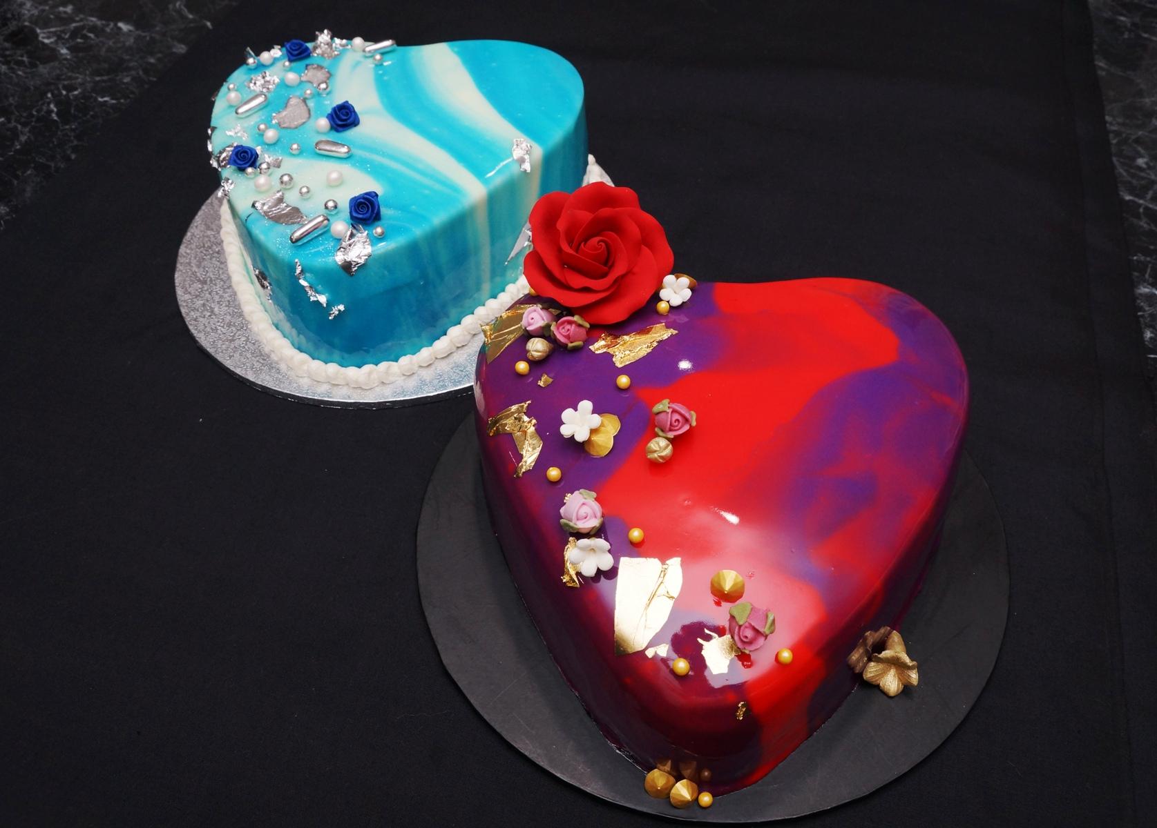 Mirror Glaze Cakes 1