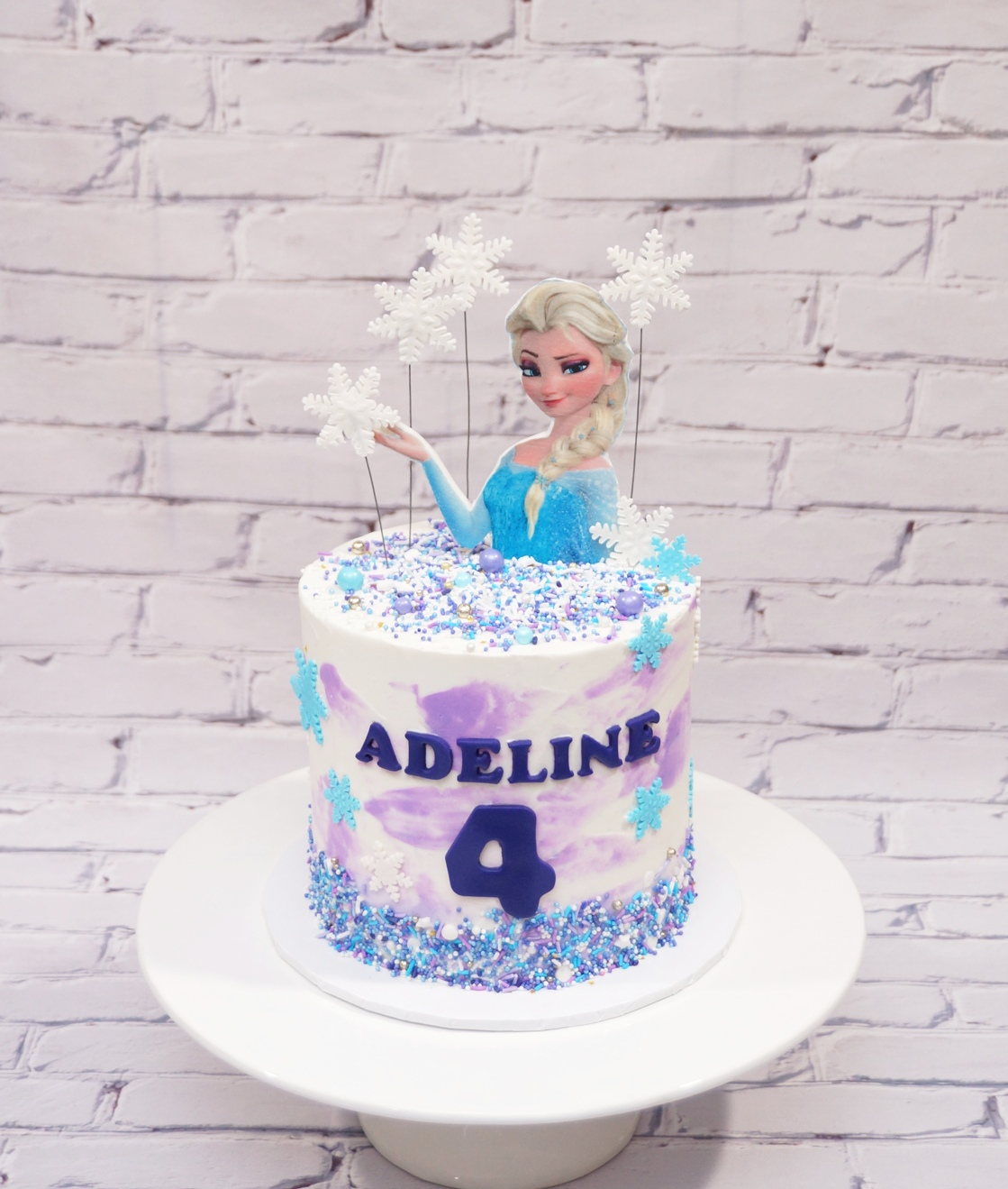 Elsa Frozen Cake 24.10.20 2