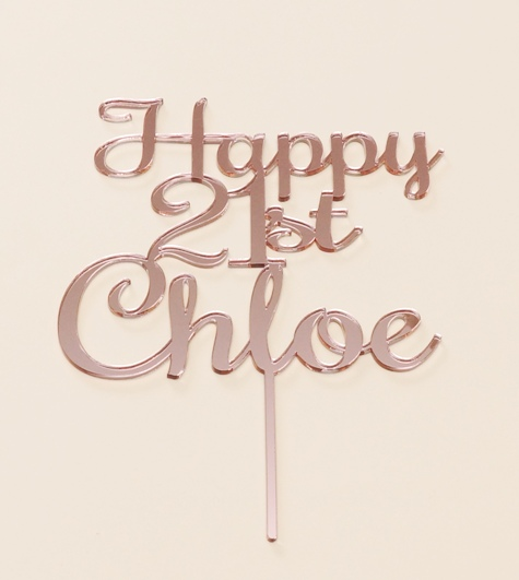 Rose Gold Mirror Chloe