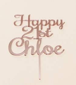 Rose Gold Mirror Chloe