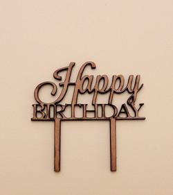 Happy Birthday Cake Topper 1